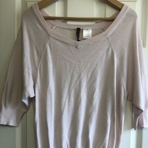 Light Pink Loose Fitting Lounge Top Size M